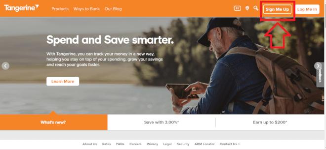 カナダの高金利銀行 TangerineのSaving Account 開設方法まとめ