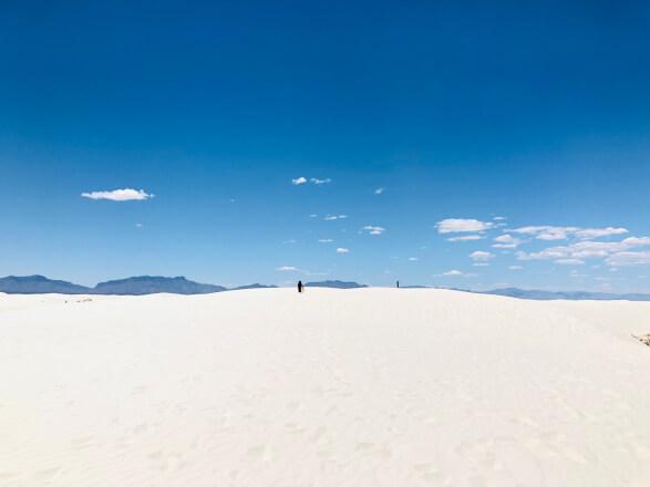 【アメリカ横断#9日目】 ニューメキシコ州 ホワイトサンズ国立公園
