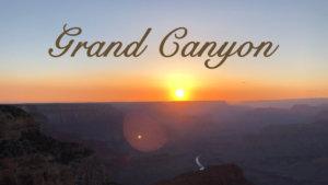 アメリカ横断#12日目 グランドキャニオンの壮大な景色に酔いしれる
