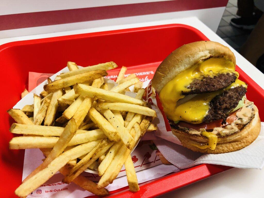 【アメリカ横断 #17日目】LAのおしゃれエリア観光とIn-n-Outを食す!